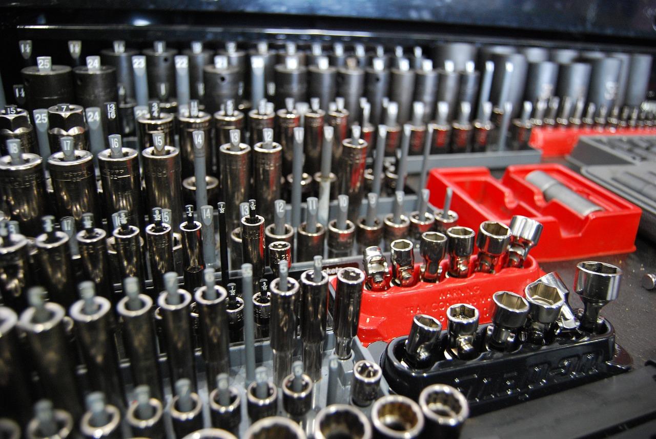 Narzędzia z serwisu mechanicznego Citroena w Swarzędzu (obok Poznania)