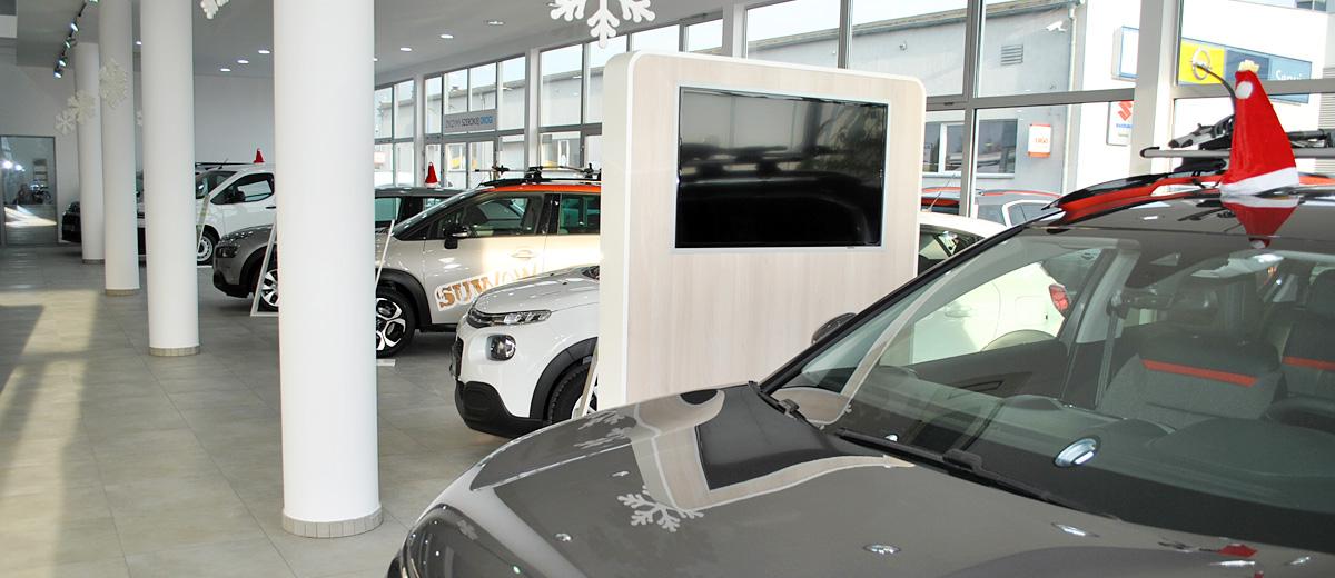 Autoryzowany salon samochodów osobowych oraz dostawczych marki Citroen
